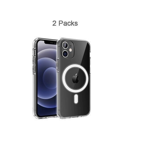 2 packs clear case for iPhone 12