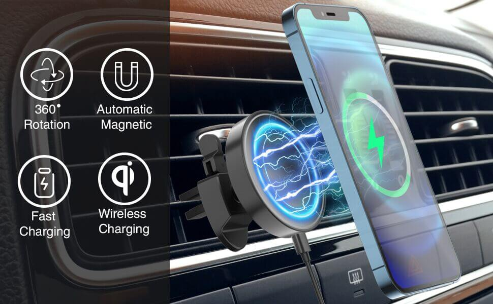iphone 12 magnetic fast wireless charger