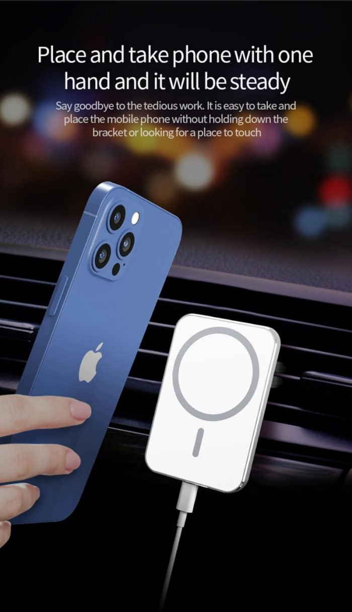 15w fast Magsafe wireless car charger