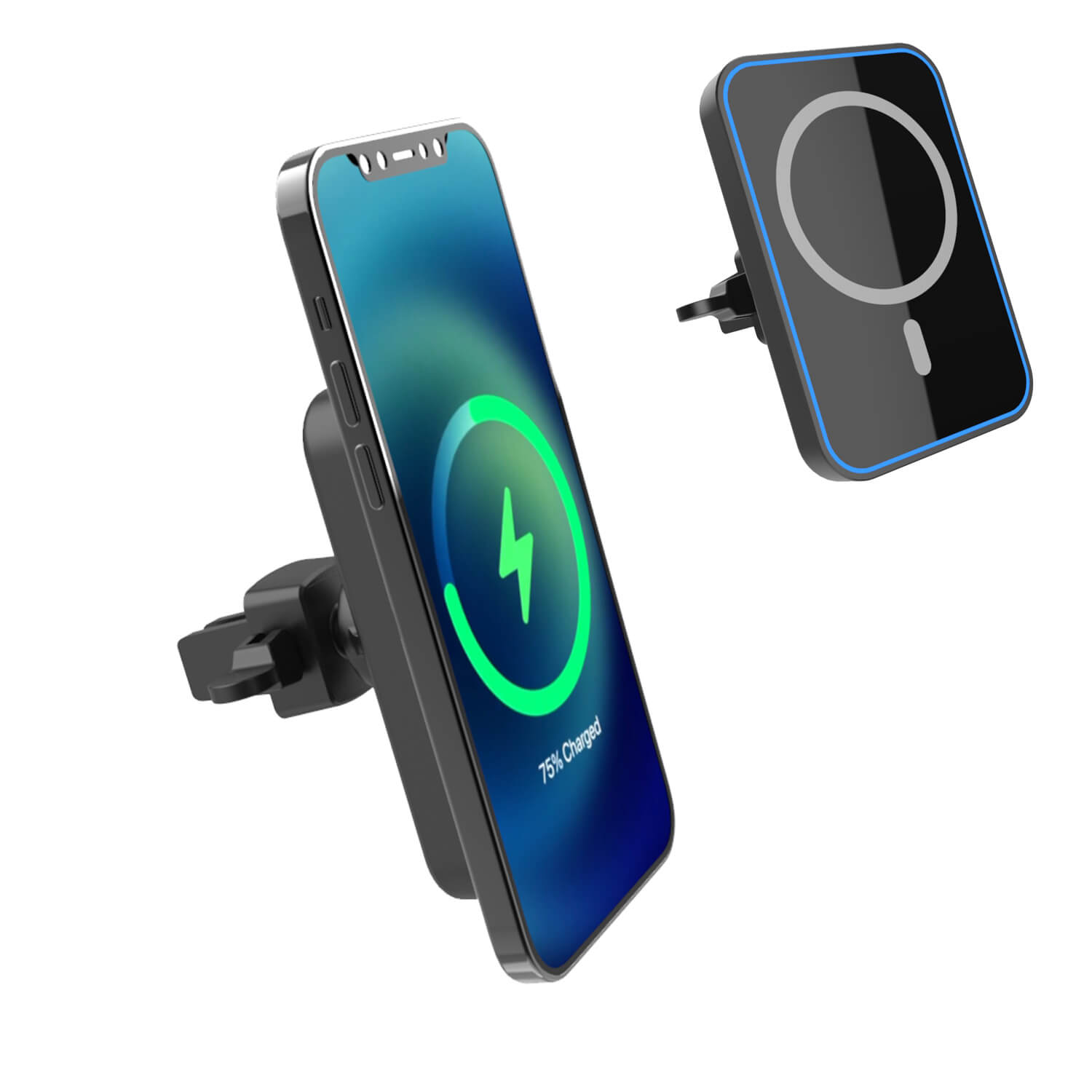 magsafe wireless car charger qi