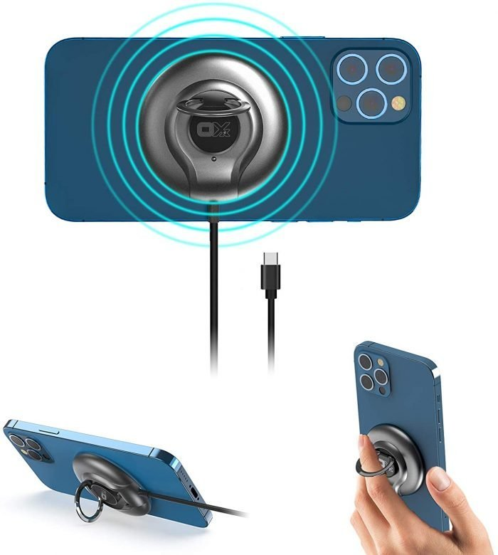 keyring magnetic wireless charger