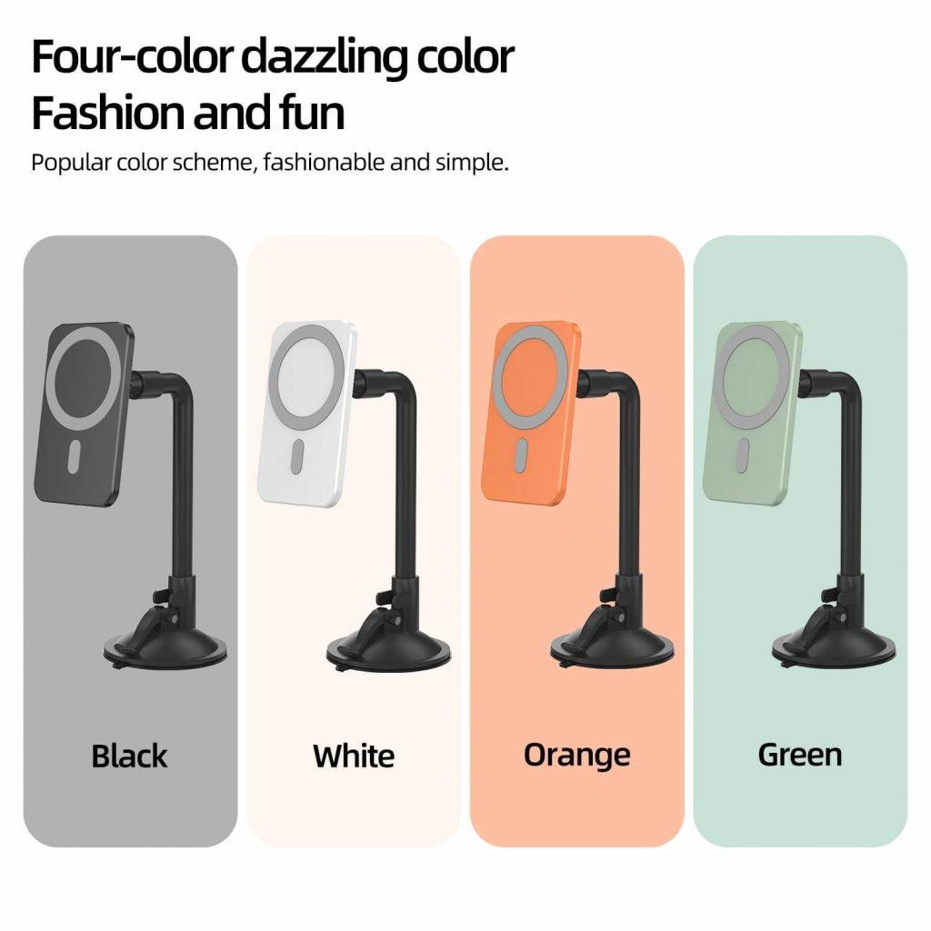 orange wireless charging holder